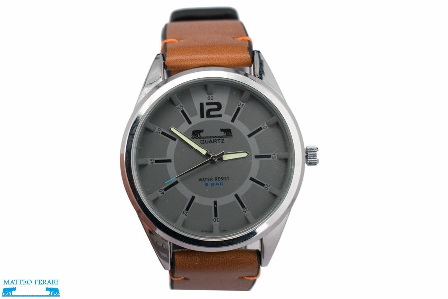 Ceas Barbatesc Matteo Ferari Brown/Gray Casual V