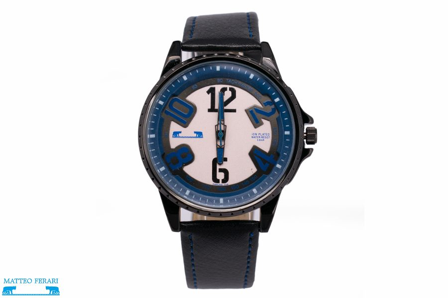 Ceas Barbatesc Matteo Ferari Black/Dark Blue Casual III