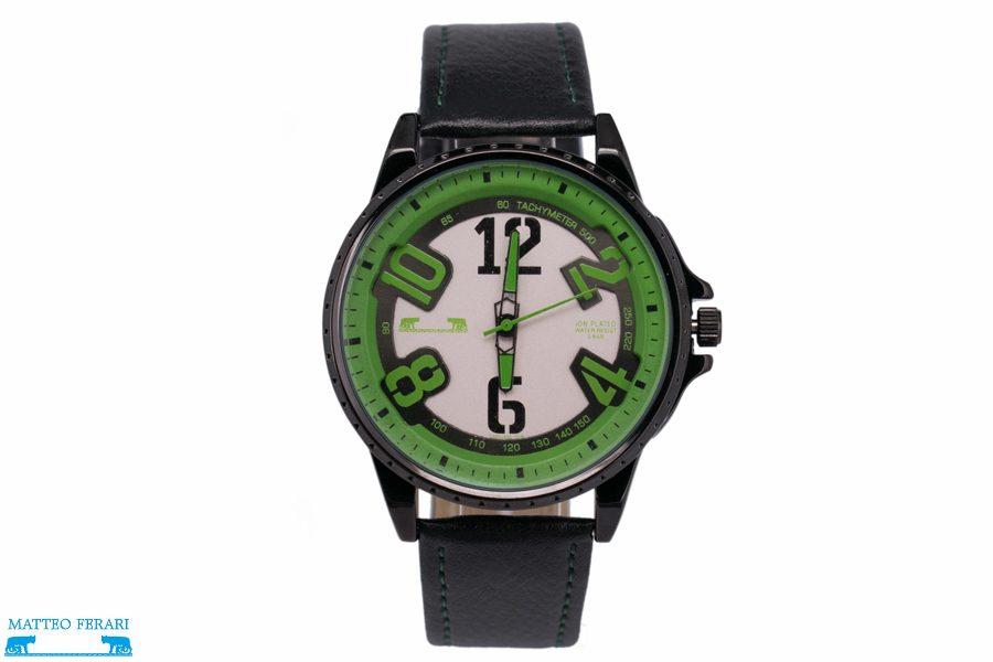 Ceas Barbatesc Matteo Ferari Black/Green Casual III