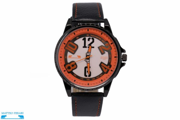 Ceas Barbatesc Matteo Ferari Black/Orange Casual III