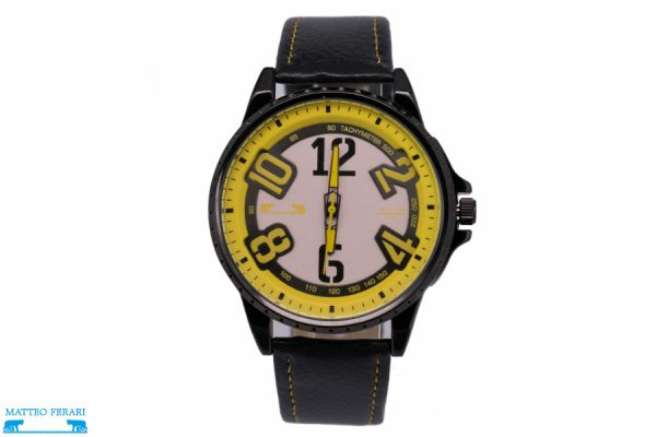 Ceas Barbatesc Matteo Ferari Black/Yellow Casual III