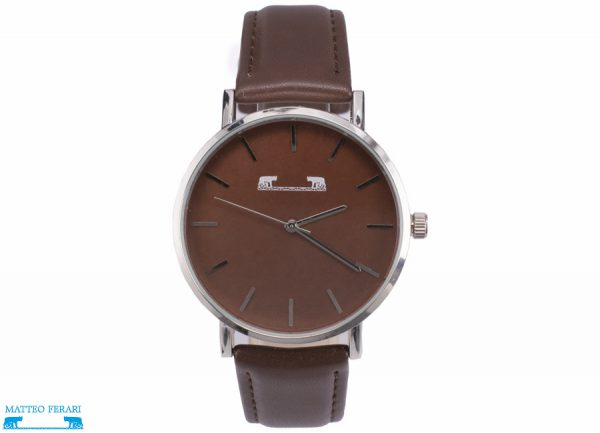 Ceas Barbatesc Matteo Ferari Brown Casual XI
