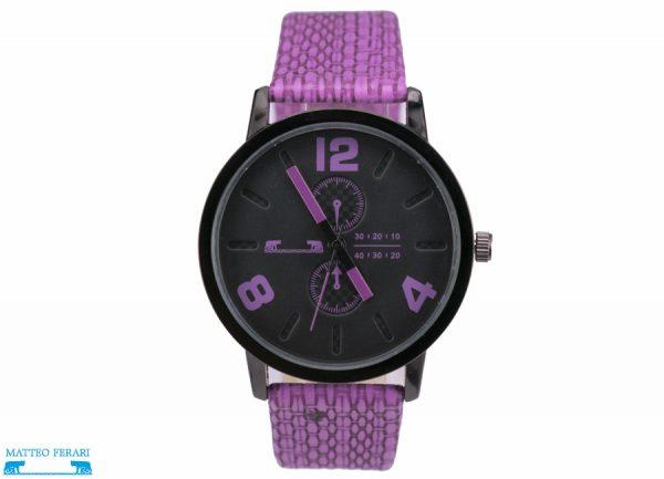 Ceas Dama Matteo Ferari Purple Casual IX