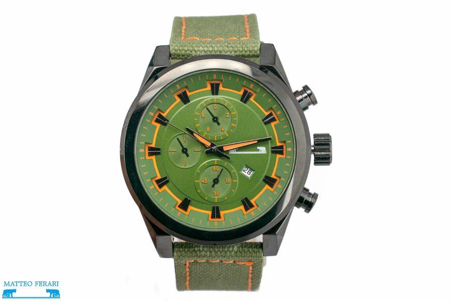 Ceas Barbatesc Matteo Ferari Green Clasic XII